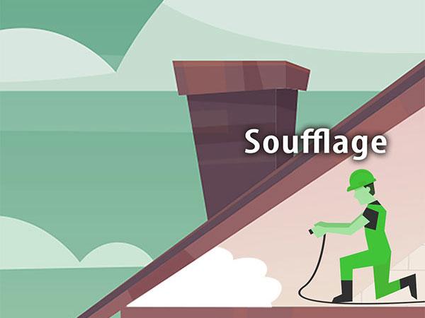 Isolation par soufflage